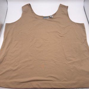 Chico's Size 3 Beige Tank Top